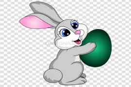Easter Bunny PNG Image