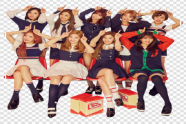 TWICE Group PNG Image