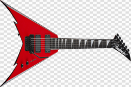 Red Electric Guitar Transparent Images PNG