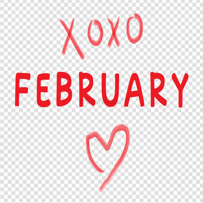 February Transparent Images PNG