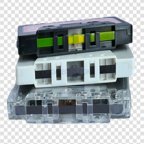 Audio Cassette PNG Background Image