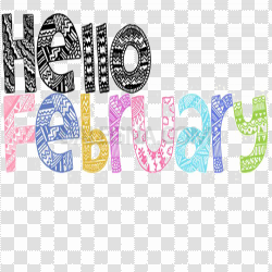 February PNG Transparent Picture