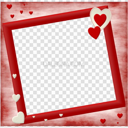 Vector Love Frame PNG Picture
