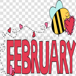 February Download PNG Image